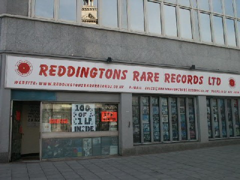 Reddingtons Rare Records Inside Our Shop
